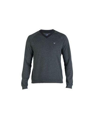 Серый свитер Armani Jeans