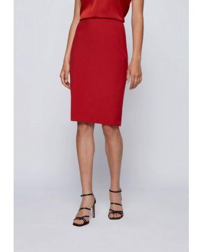 Красная юбка Boss