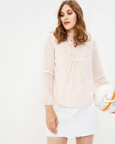 Блузка осенняя розовая By Swan
