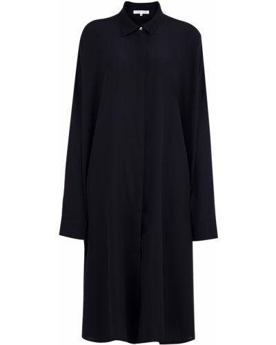 Платье миди платье-рубашка с длинными рукавами Alexander Terekhov