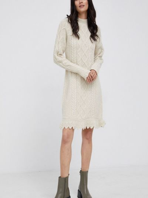 Шерстяное платье Polo Ralph Lauren
