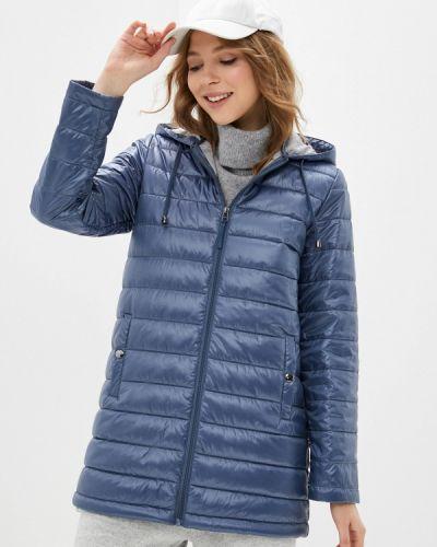 Утепленная куртка - синяя снежная королева