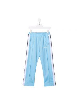 Spodnie sportowe - niebieskie Palm Angels