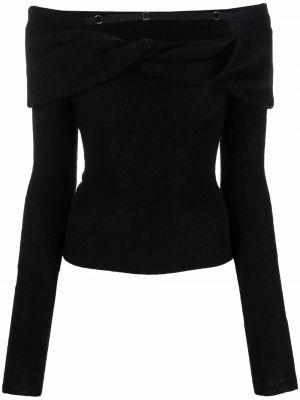 Шерстяной свитер - черный Jacquemus