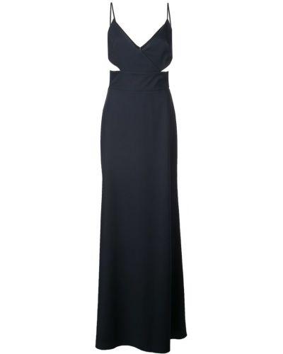 Расклешенное платье на молнии Amsale