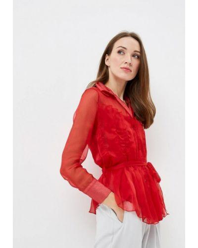 Блузка красная Paccio