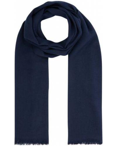 Niebieska szal z wiskozy Fraas