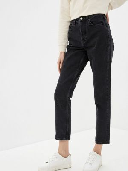 Прямые джинсы серые Topshop