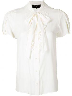 Рубашка с коротким рукавом - белая Paule Ka