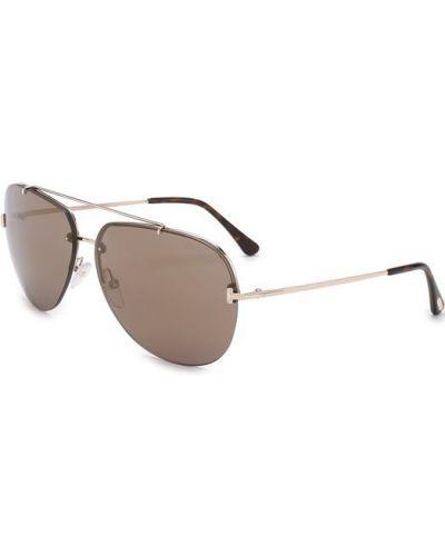 Солнцезащитные очки свободного кроя Tom Ford