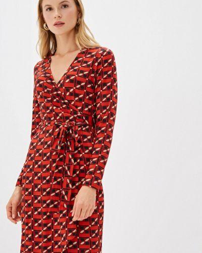 Платье с запахом весеннее Madeleine