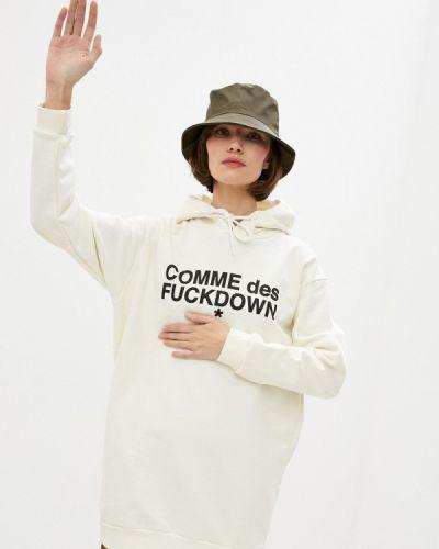 Бежевое платье Comme Des Fuckdown