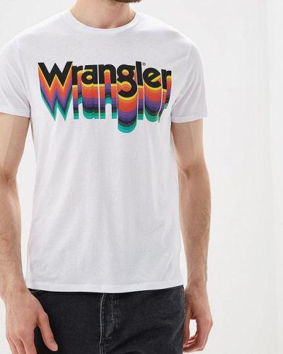 Белая футболка Wrangler