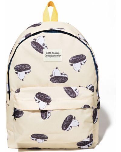 Żółty plecak z printem Bobo Choses