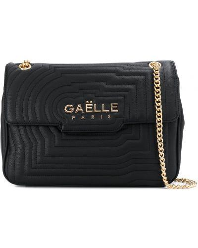 Сумка на цепочке - черная Gaelle Bonheur