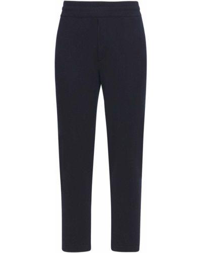 Niebieskie spodnie dresowe wełniane Pantaloni Torino