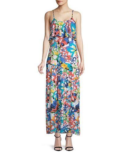 Текстильное с ремешком платье макси на бретелях Rachel Pally