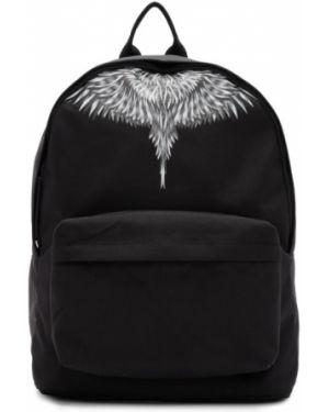 Кожаный рюкзак белый текстильный Marcelo Burlon. County Of Milan