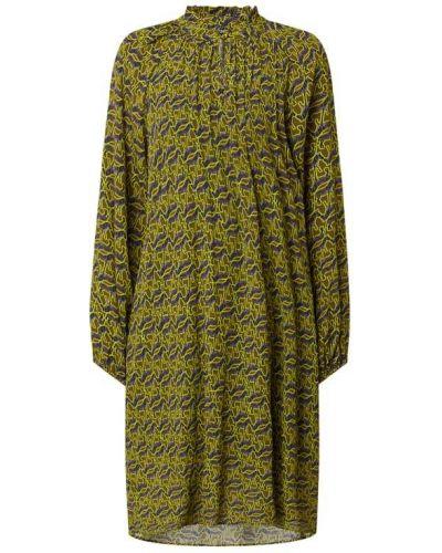 Zielona sukienka z wiskozy Risy & Jerfs