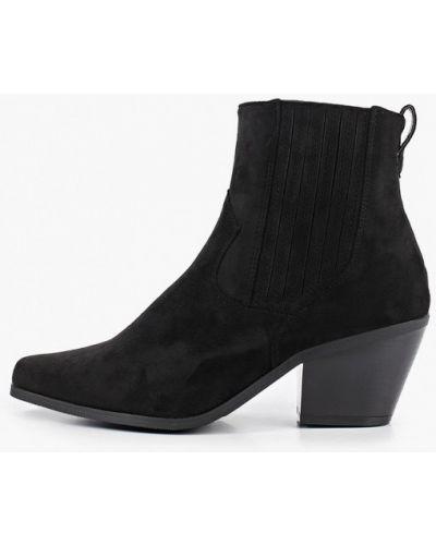 Черные пинетки Ideal Shoes