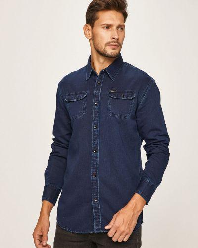 Koszula dzinsowa klasyczny z kołnierzem Guess Jeans