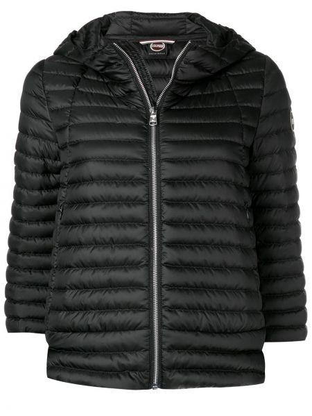 Прямой черный короткая куртка Colmar