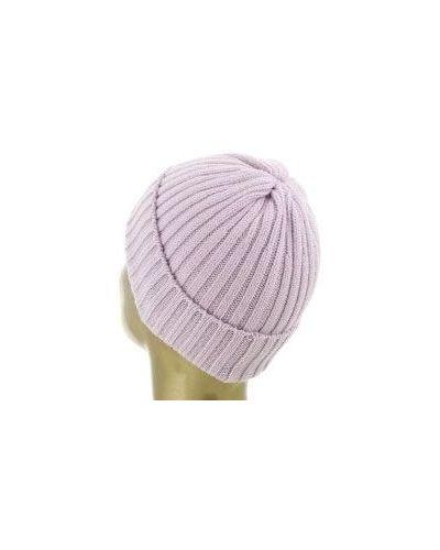 Розовая шапка кашемировая Fedeli