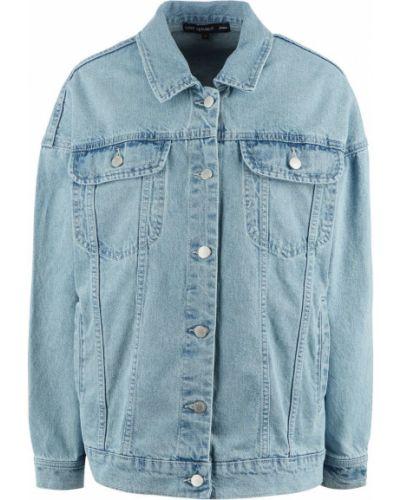 Синяя джинсовая куртка оверсайз Love Republic