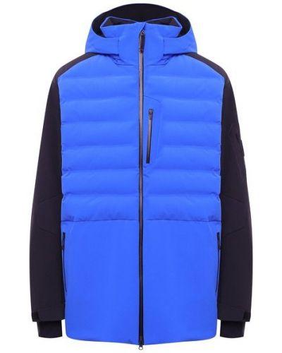 Утепленная синяя куртка Bogner