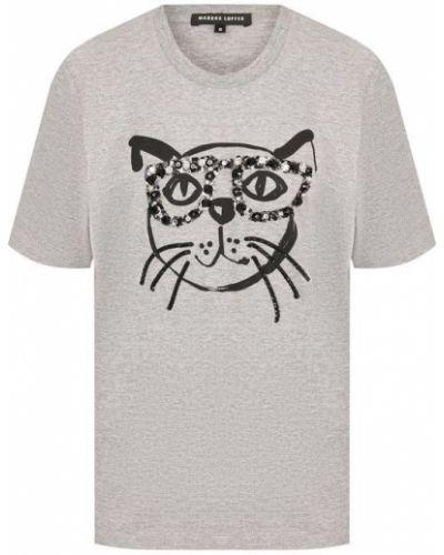 Серая футболка Markus Lupfer