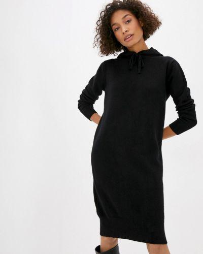 Черное вязаное платье Trendyangel