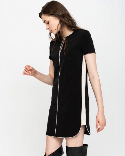 Платье осеннее черное Lime
