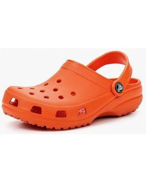 Сабо оранжевый Crocs