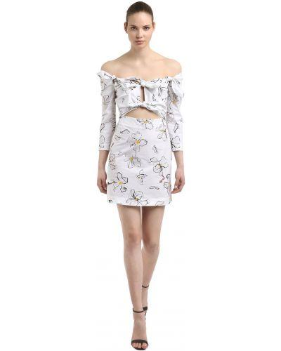 Платье макси длинное - белое Isa Arfen