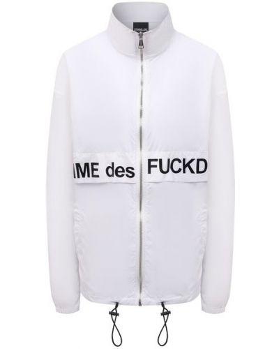 Нейлоновая белая куртка Comme Des Fuckdown