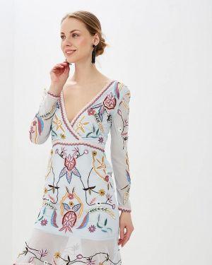Платье индийский прямое Frock And Frill