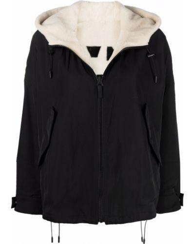 Куртка с капюшоном - белая Yves Salomon