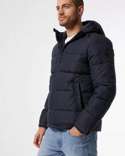 Утепленная куртка - синяя Burton Menswear London