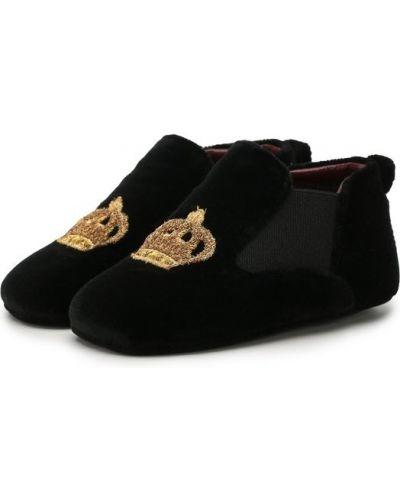 Черные пинетки Dolce & Gabbana