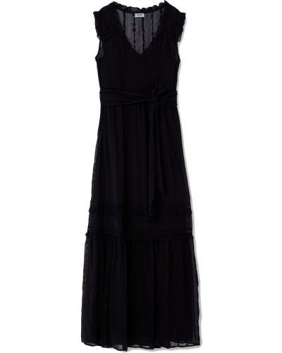 Czarna sukienka długa elegancka Liu Jo