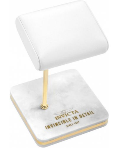 Biały złoty zegarek Invicta
