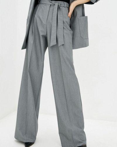 Серые классические брюки Zubrytskaya