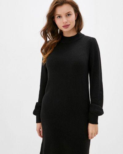 Вязаное платье - черное Jdy