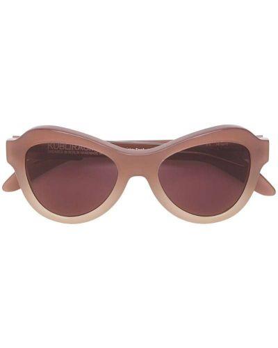 Бежевые солнцезащитные очки Kuboraum