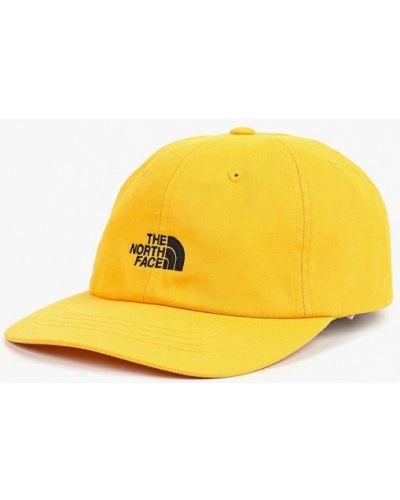 Желтая бейсболка The North Face