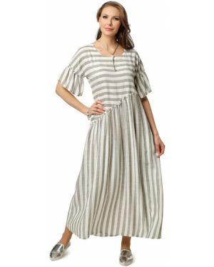 Летнее платье платье-сарафан с цельнокроеным рукавом Dizzyway