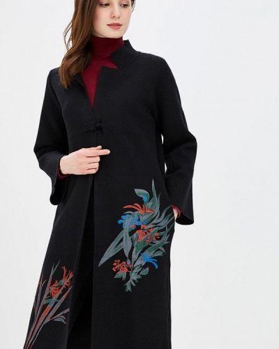 Черное пальто весеннее Fresh Cotton