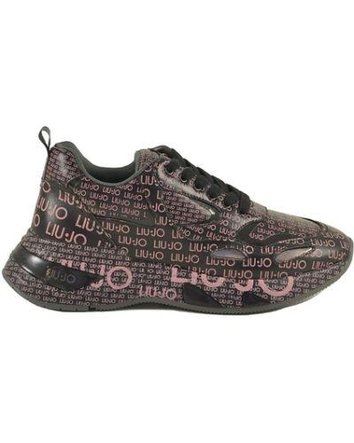 Brązowe sneakersy Liu Jo