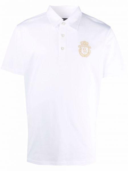 Белая рубашка с вышивкой Billionaire