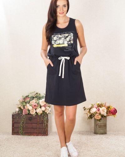 Платье с карманами без рукавов Lena Basco